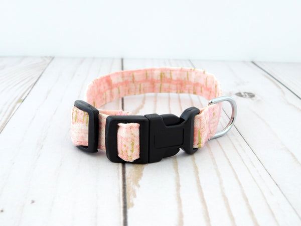 Pink Cork Dog Collar/Cat Collar - Charlotte's Pet