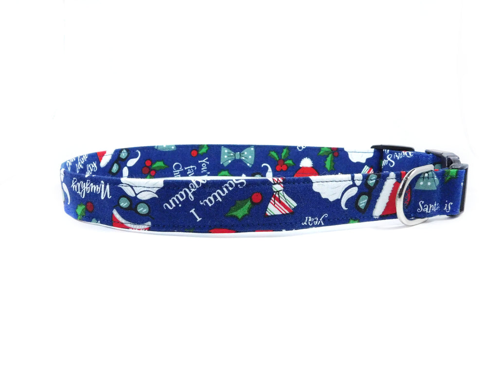 Naughty or Nice Dog Collar/ Cat Collar - Charlotte's Pet
