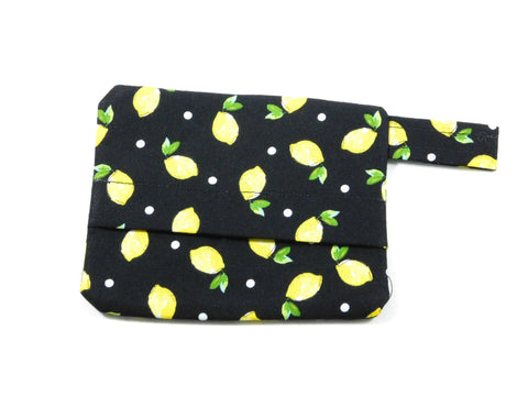 Black Lemons Waste Bag Holder - Charlotte's Pet