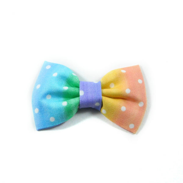 Rainbow Pastels Dog Bow Tie/Collar Flower - Charlotte's Pet