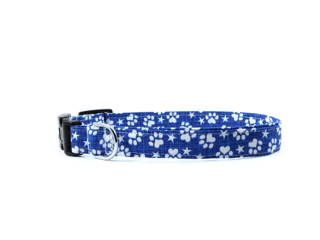 Stars and Paws Dog Collar/ Cat Collar - Charlotte's Pet