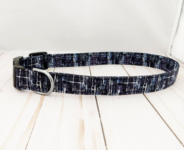 Black Ice Dog Collar/ Cat Collar - Charlotte's Pet