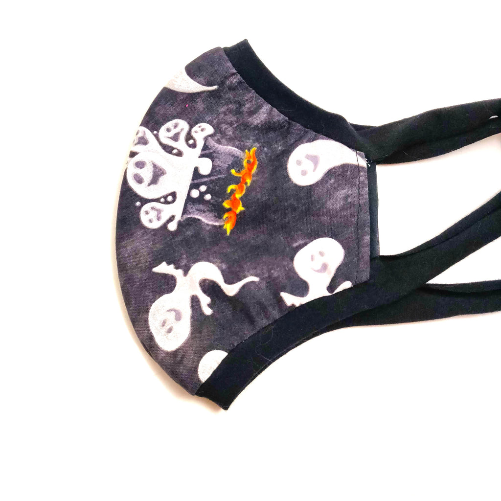 Boiling Ghosts Fabric Face Mask, nonmedical