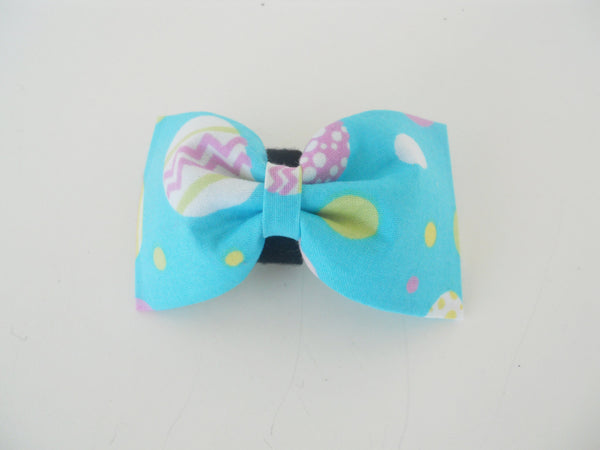 Blue Easter Bow Tie/Flower - Charlotte's Pet