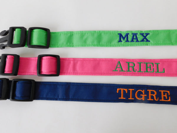 Add on Embroidery/Personalize a Collar- Must add a collar! - Charlotte's Pet