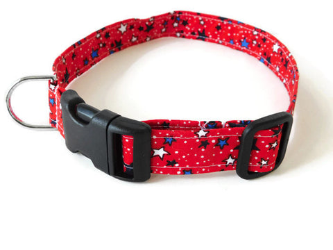 Red Stars Collar - Charlotte's Pet