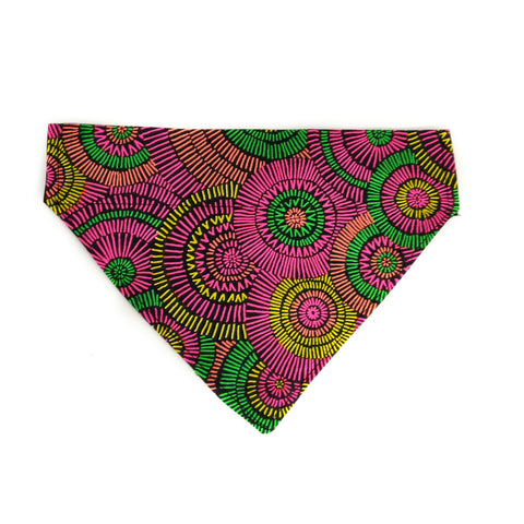 Night Fireworks Dog Bandana