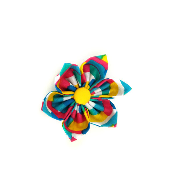 Night Fireworks Collar Flower/Bow Tie