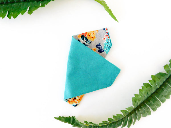 Multicolor Rose Bandana - Charlotte's Pet