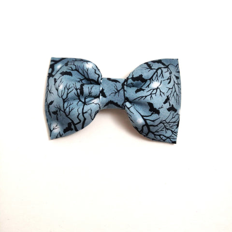 Wicked Night Collar Flower/Bow Tie
