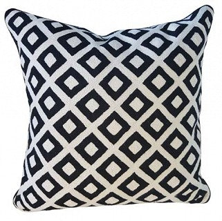 Cushion Diamond Black / White