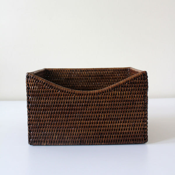 Shaped Rattan Box