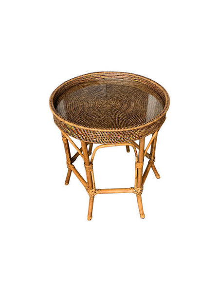 Rattan Occasional Table