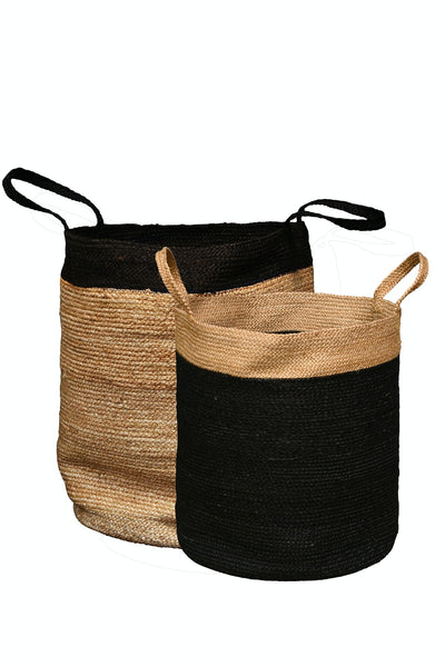 Baskets Tall Round