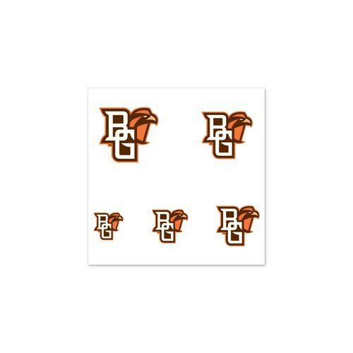 "Bowling Green Falcons Official NCAA 1"" Fingernail Tattoo Set by Wincraft"