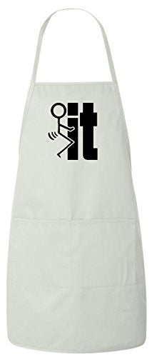 F#ck It Funny BBQ Apron by BeeGeeTees