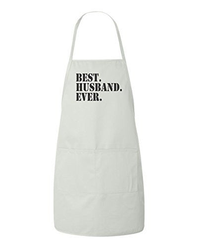 Best Husband Ever Valentines Day Gift Apron by BeeGeeTees