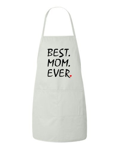 Best Mom Ever Mothers Day Gift Apron by BeeGeeTees