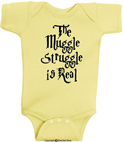 Muggle Born Funny Harry Potter Wizard Red With White Dots by BeeGeeTees