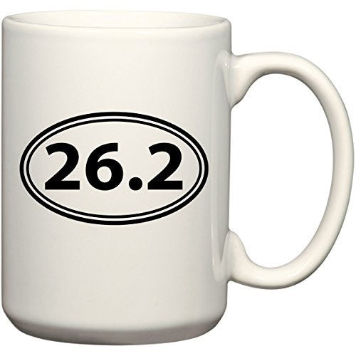 26.2 Full Marathon - Coffee Mug Office Tea Cup by BeeGeeTees