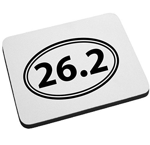 26.2 Full Marathon Mouse Pad by BeeGeeTees