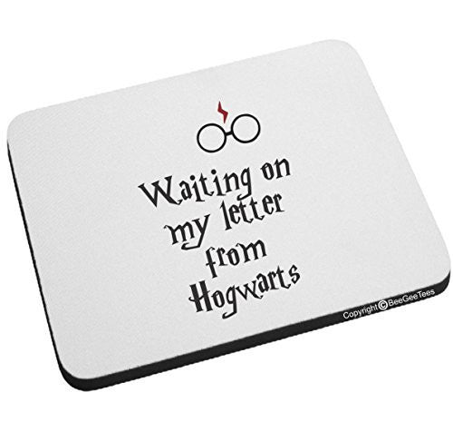 Waiting On My Letter From Hogwarts Harry Potter Mouse Pad by BeeGeeTees®