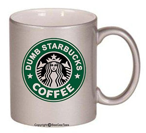 Nathan For You Dumb Starbucks Coffee Funny Mug Office Tea Cup by BeeGeeTees®