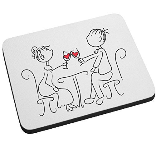 """Cheers My Dear"" Mouse Pad - Valentines Day Gift or Wedding Gift by BeeGeeTees®"