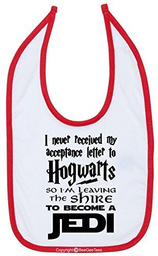 I Never Received My Acceptance Letter From Hogwarts Funny Bib by BeeGeeTees®