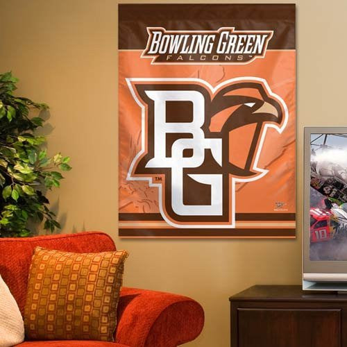 NCAA Bowling Green State Falcons 27'' x 37'' Vertical Banner Flag
