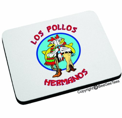Los Pollos Hermanos Mouse Pad - Happy Birthday Gift by BeeGeeTees 07774