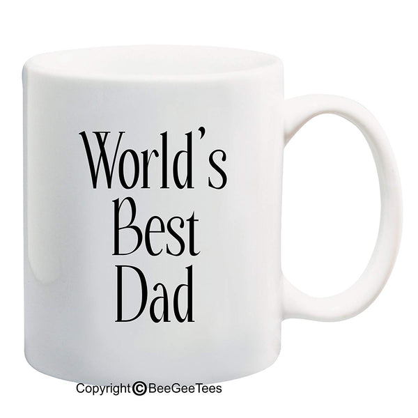 WORLD'S BEST DAD - Happy Fathers Day by BeeGeeTees 00111