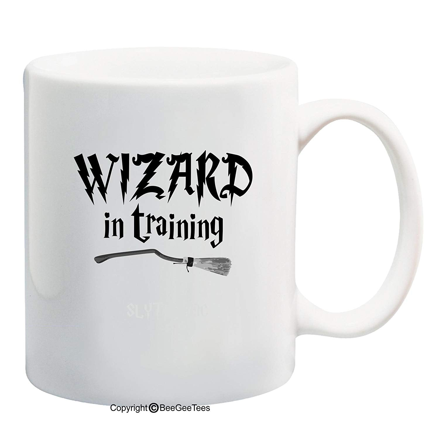 Wizard In Training Funny Harry Potter Inspired Coffee Mug or Tea Cup Wizards by BeeGeeTees