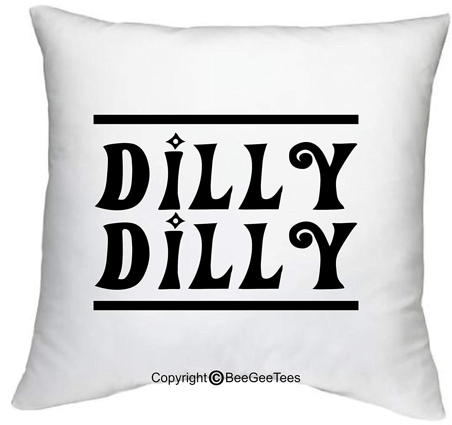 "Dilly Dilly Bud Light Parody Game of Thrones Inspired 18"" x 18"" Zippered Pillow Cover by BeeGeeTees"