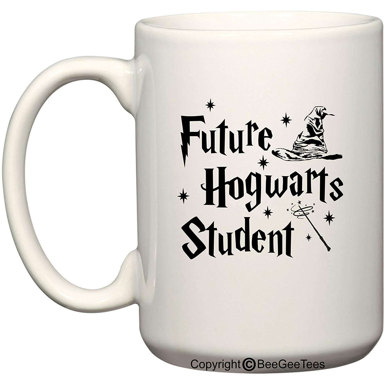 Future Hogwarts Student Funny Harry Potter Inspired Coffee Mug or Tea Cup Wizards by BeeGeeTees