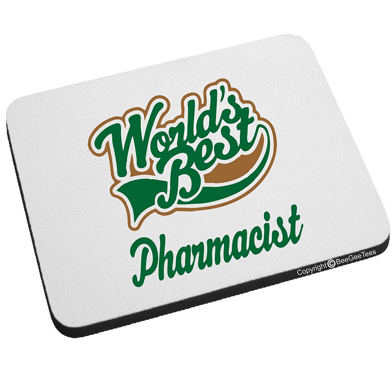 World's Best Pharmacist Mouse Pad by BeeGeeTees®