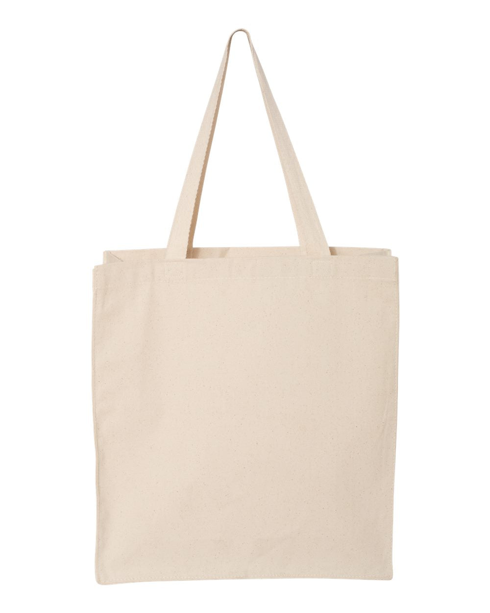"Customizable Canvas Tote Bag - 14"" x 15"" x 4"""
