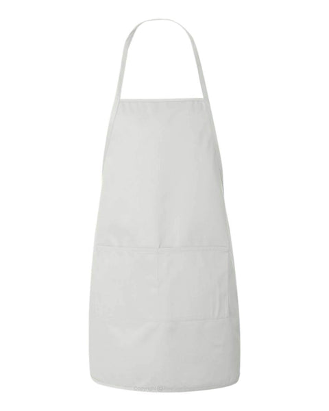 "Customizable Apron - 24"" x 28"" - White"