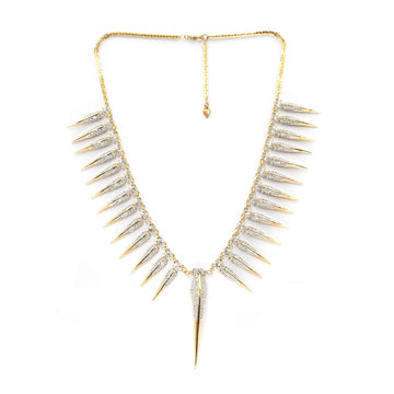 Shop goddess collar necklace with our signature bird beak styling| Camille Jewelry