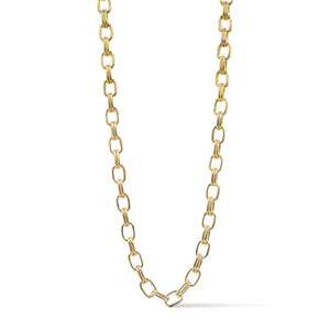 Ares- Double Link Gold Chain Necklace