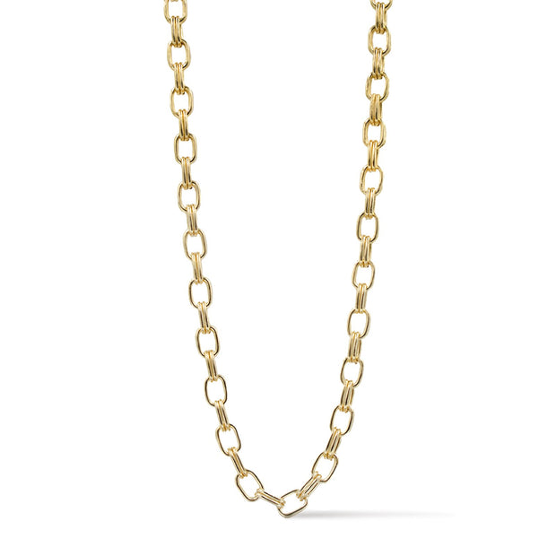 Ares- Double Link Gold Chain Necklace 1