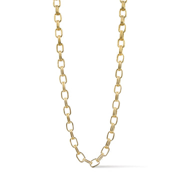Camille Jewelry- Ares double linked chain necklace with toggle bar closure