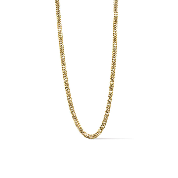 Ares- Soft Gold Chain Link Necklace