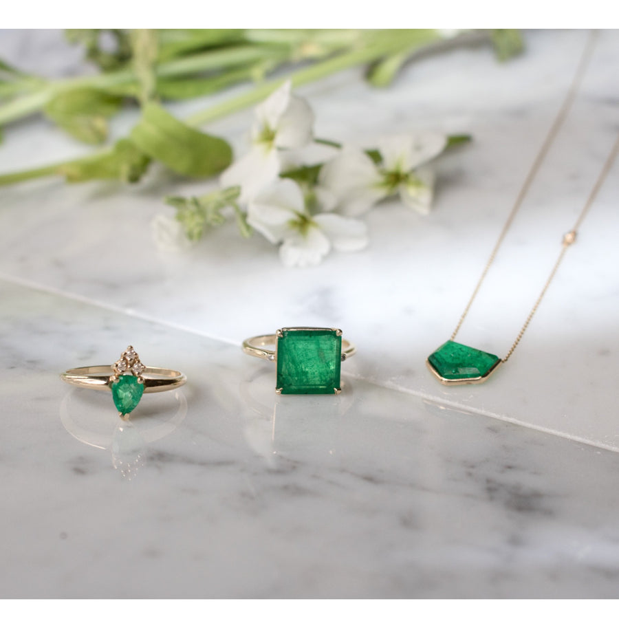 Shop New Fine Jewelry Collection | Emerald Designs | Camille Jewelry