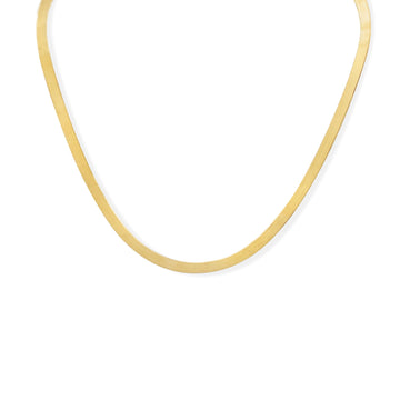 Camille Jewelry - medium snake chain women's necklace.