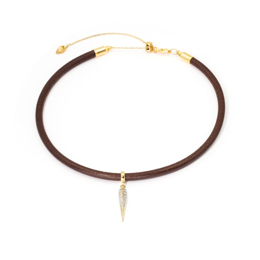 Shop Leather Choker Necklace | Sale Jewelry| Camille Jewelry