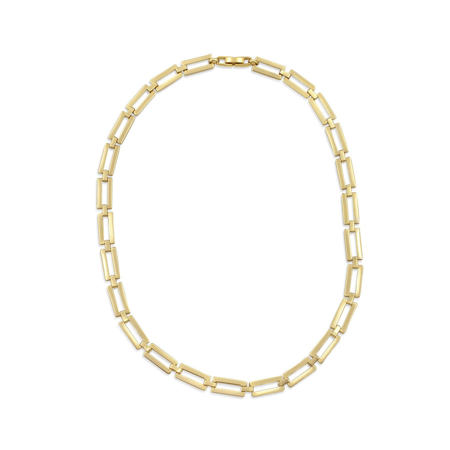 Camille Jewelry - Shop our retro style gold linked necklace. Free Shipping within the USA