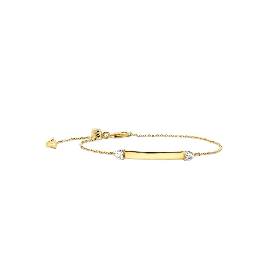 Shop ID bracelets in sterling silver and vermeil | Camille Jewelry
