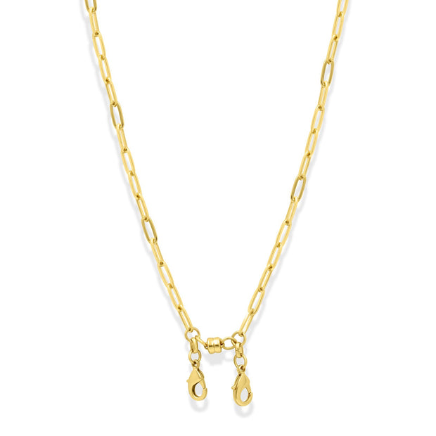 Convertible Paperclip Chain Necklace For Face Mask & Eyewear 1