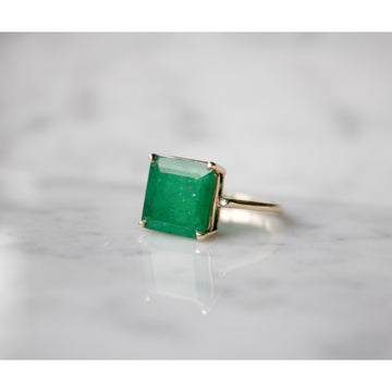 Shop Gold Fine Jewelry | Emerald Ring | Camille Jewelry NYC